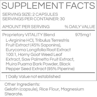 Sledge Hammer XL Ingredients